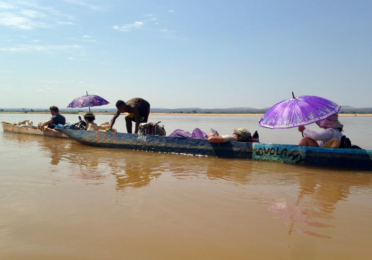 Descente de rivière Tsiribihina