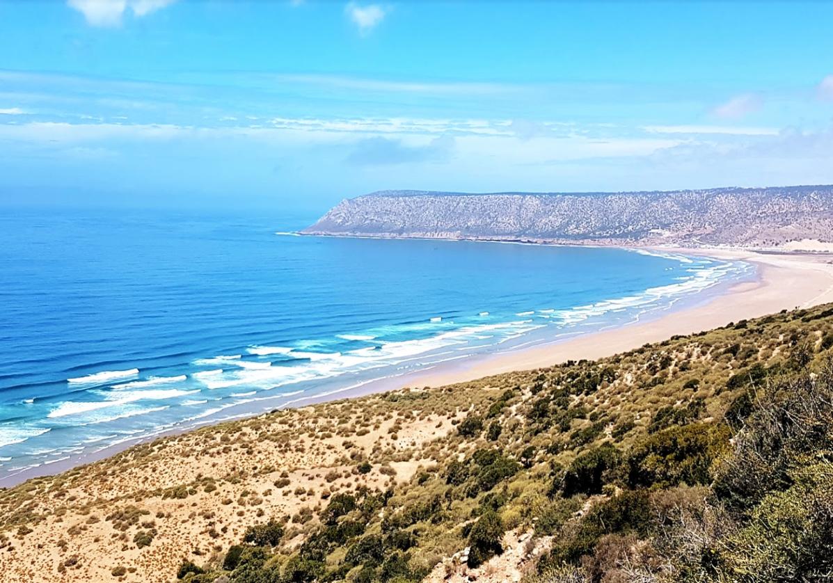Marche entre dunes et plages