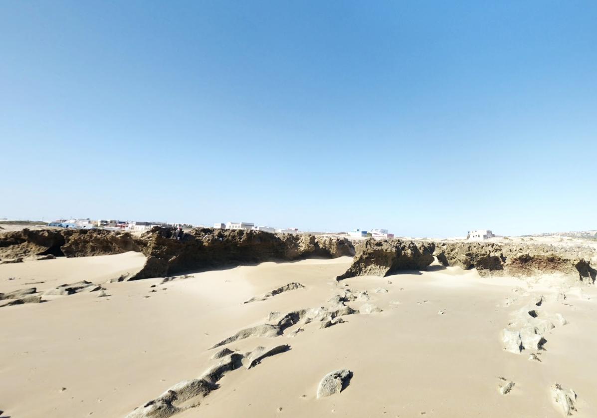 Marche le long des plages de Sidi Mbarek