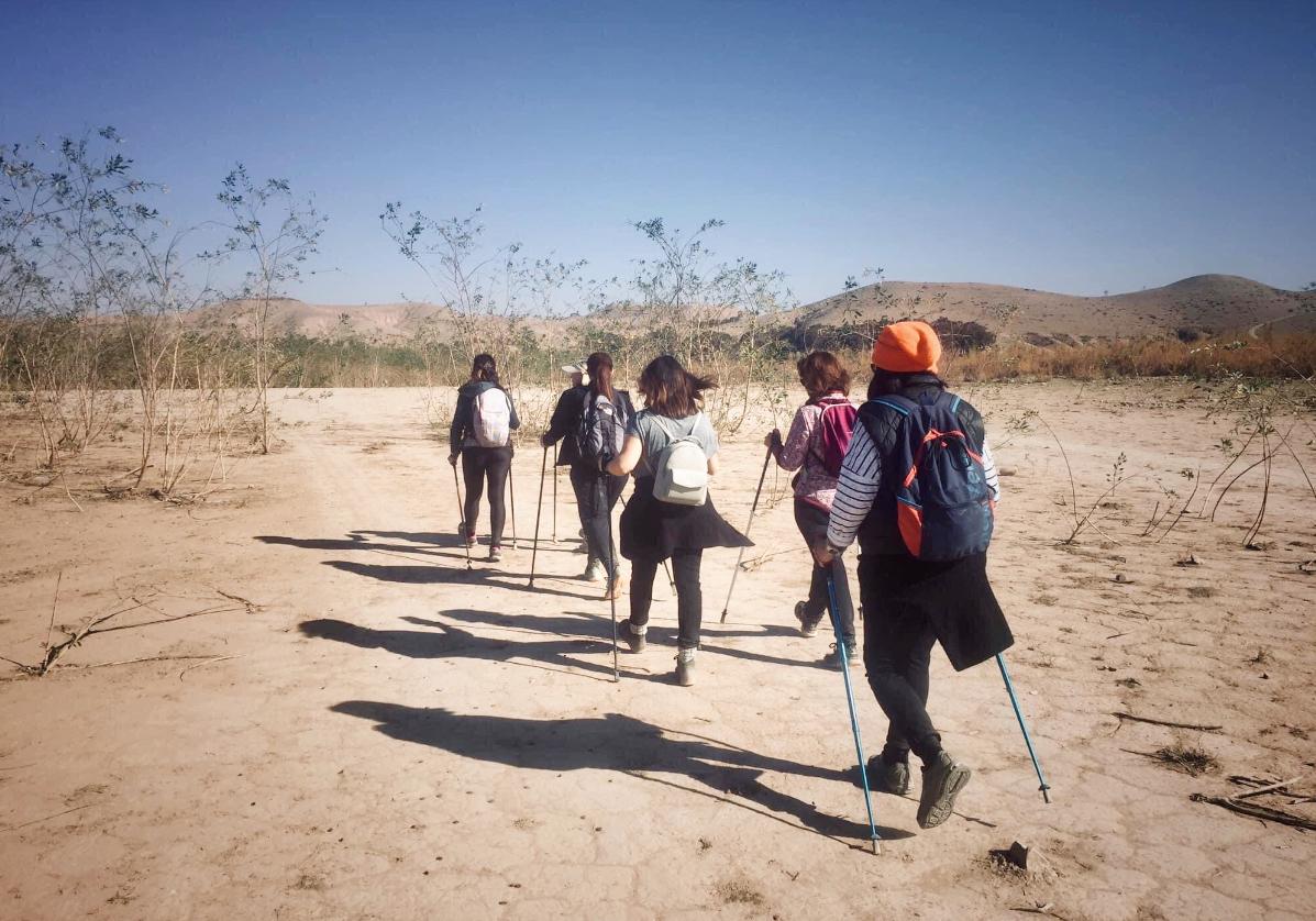 Marche dans la vallée de Taboulaouante