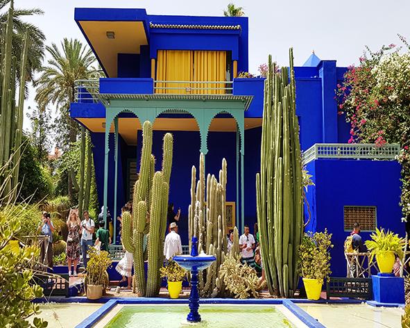 Jardins Majorelle à Marrakech