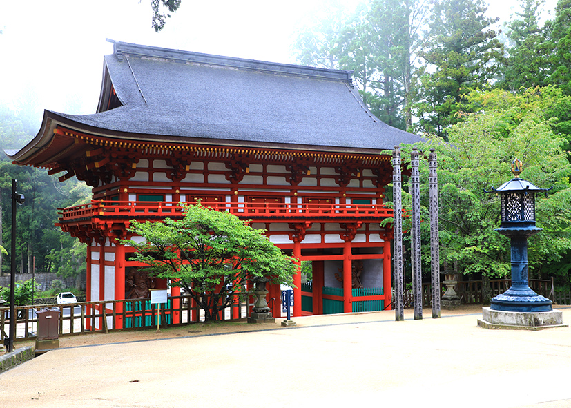 Site sacré de la pagode Konpon Daito