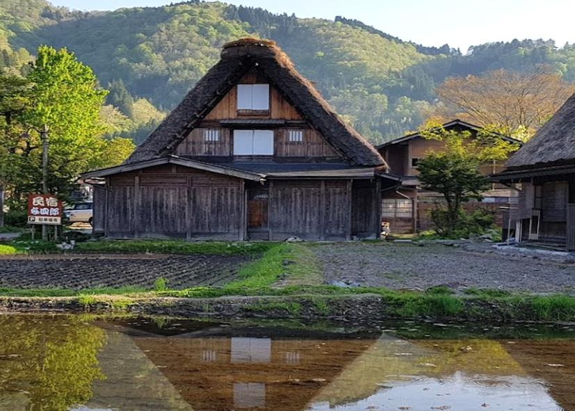 Les toits de chaume de Shirakawa-go