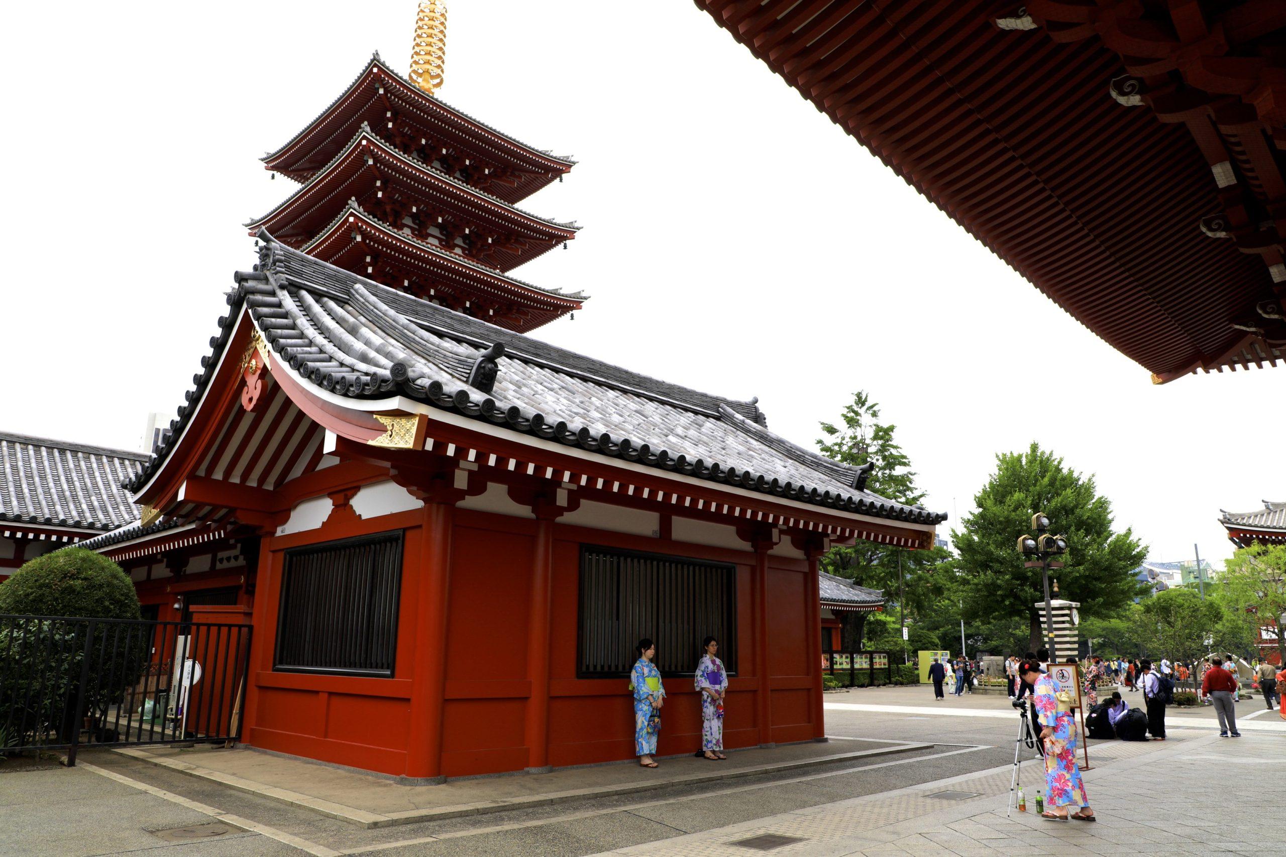 Sensô-ji, temple historique de Tokyo