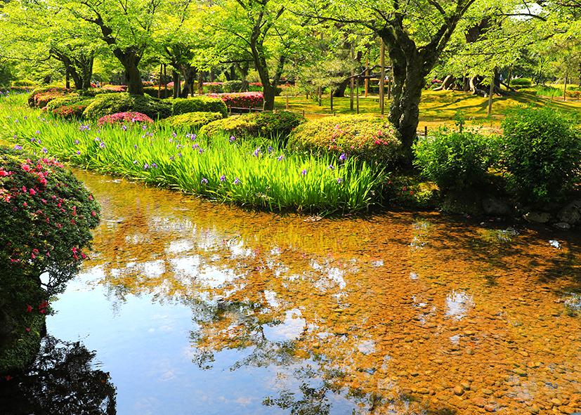 Jardin Kenroku-en de Kanazawa