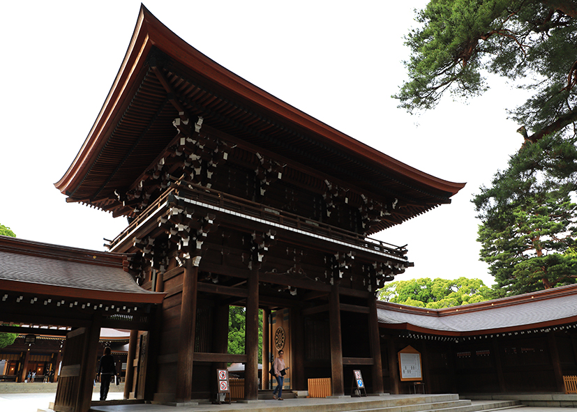 Temple Meiji-jingu de Tokyo