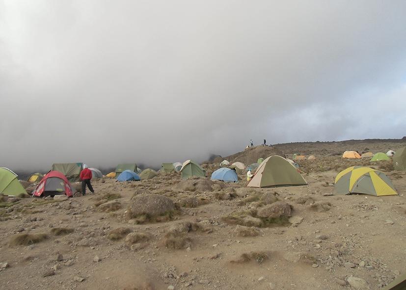 Plateau de Shira sur la voie Machame