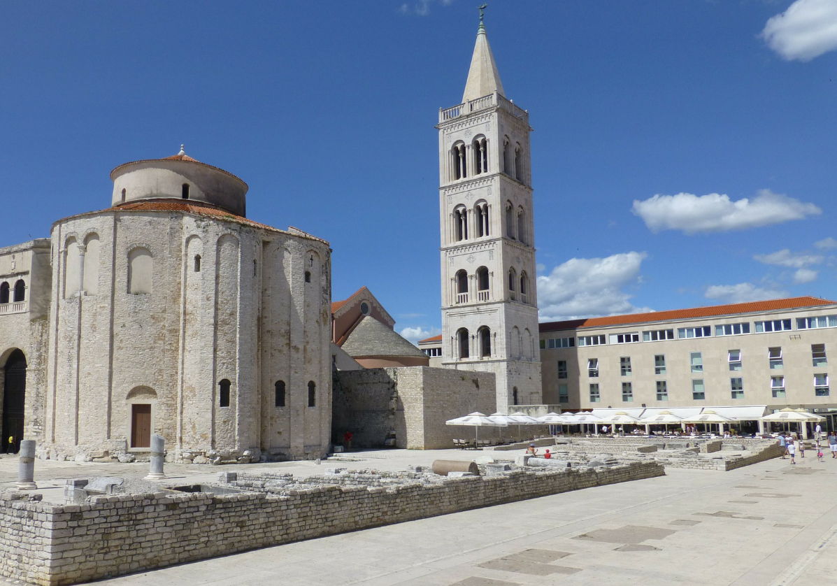 Visite du centre de Zadar