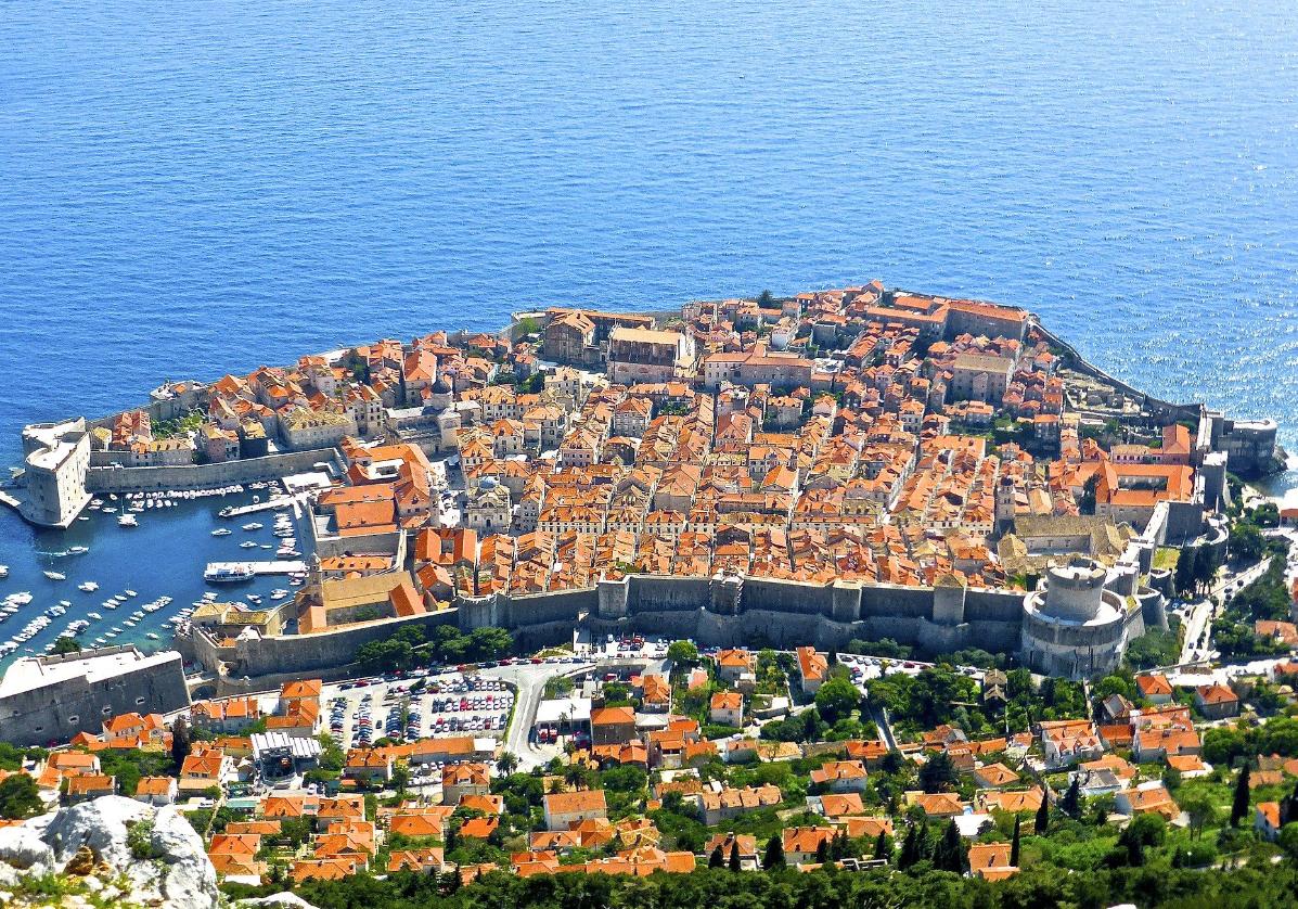La belle cité de Dubrovnik