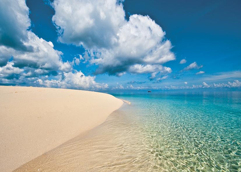 Plage de rêve à Nakupenda Beach