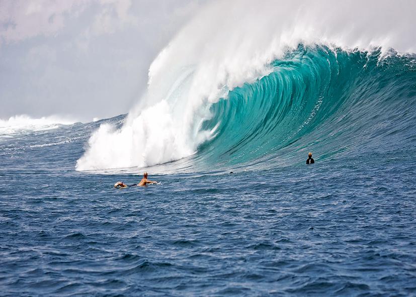 Les vagues légendaires de la cote Nord d'Oahu