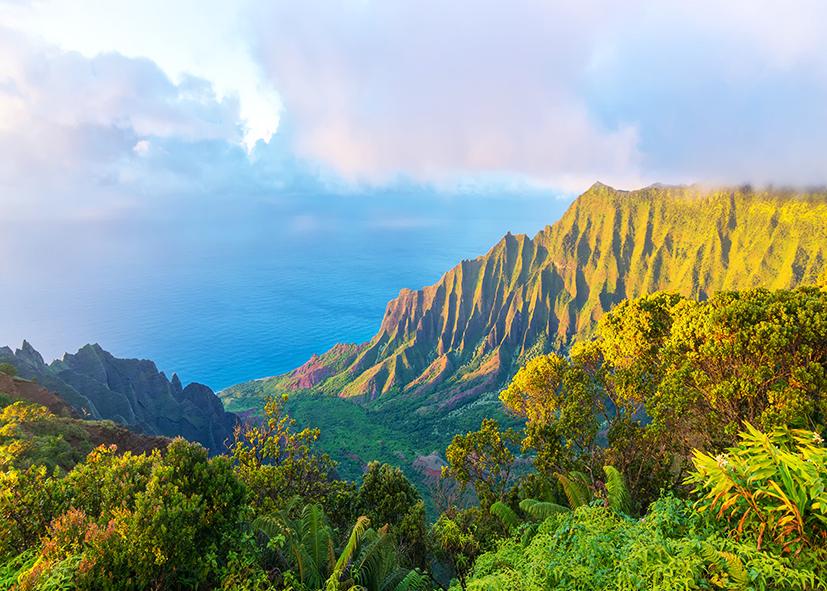 Kualoa Ranch dans le Nord de l'ile d'Oahu