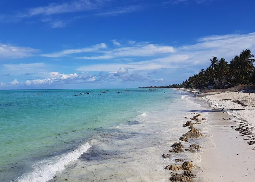 La plage de Jambiani