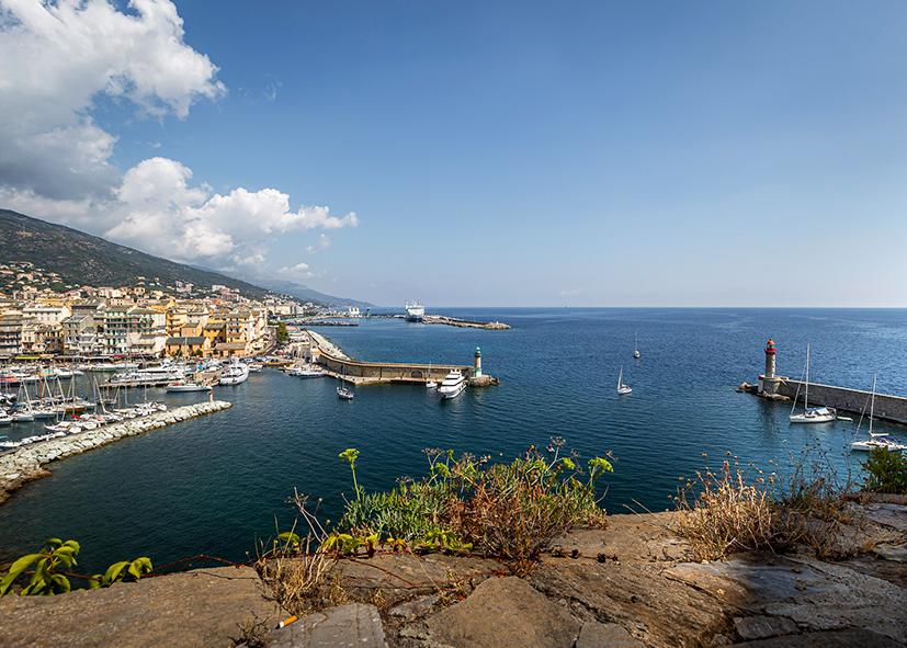 Port de la ville de Bastia