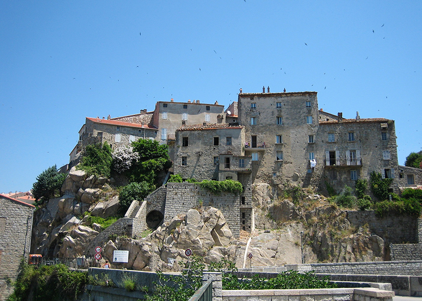 Le village de Sartène