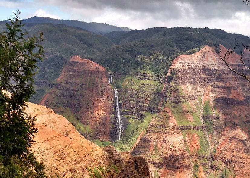 Waimea Canyon sur l'ile de Kauai