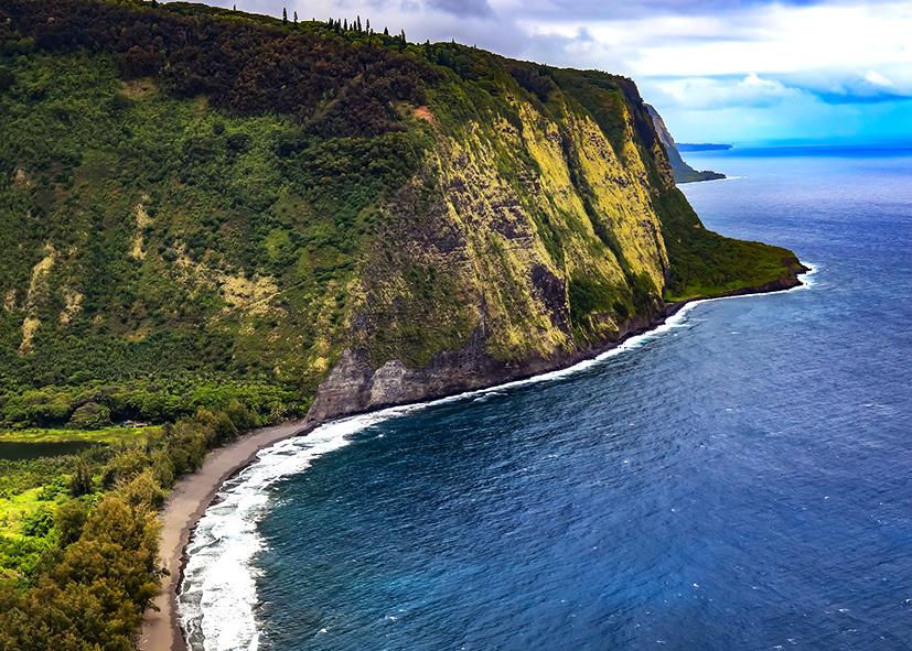 Waipio Valley sur Big Island