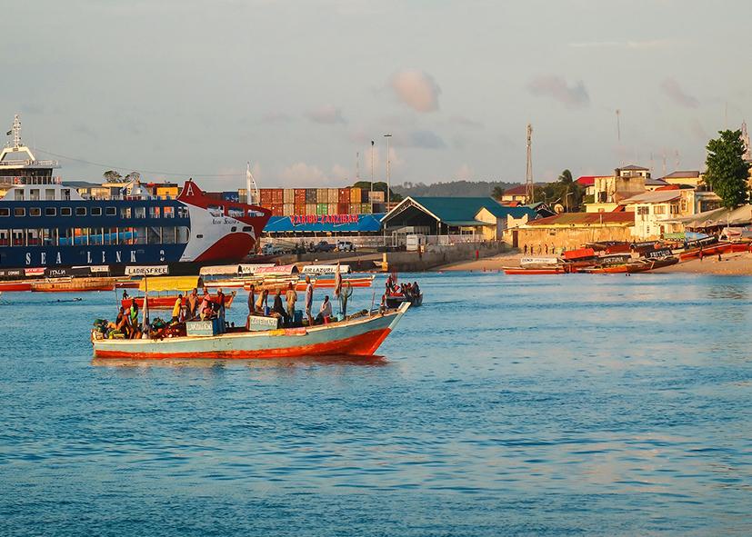 La vielle ville de Stone Town à Zanzibar