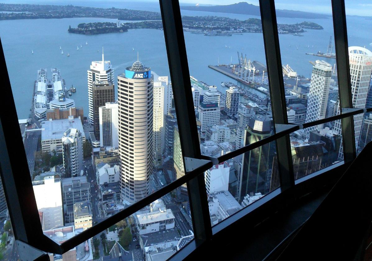 Auckland depuis la Sky Tower