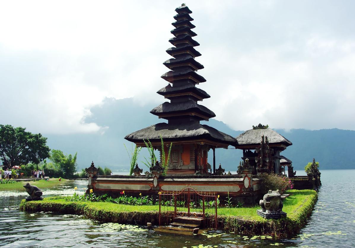 Visite du temple d'Ulun Danu