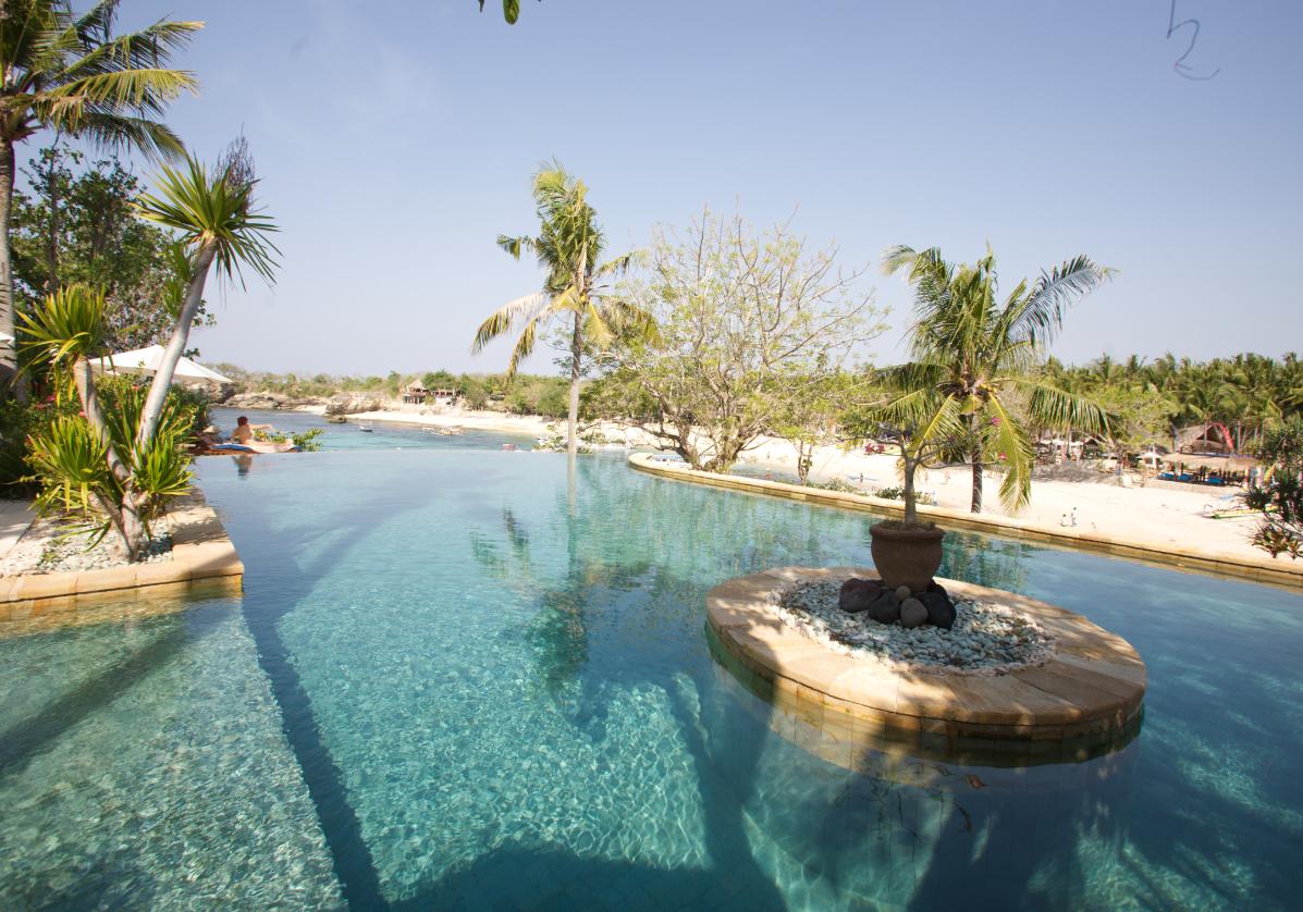 Plage paradisiaque à Lombok