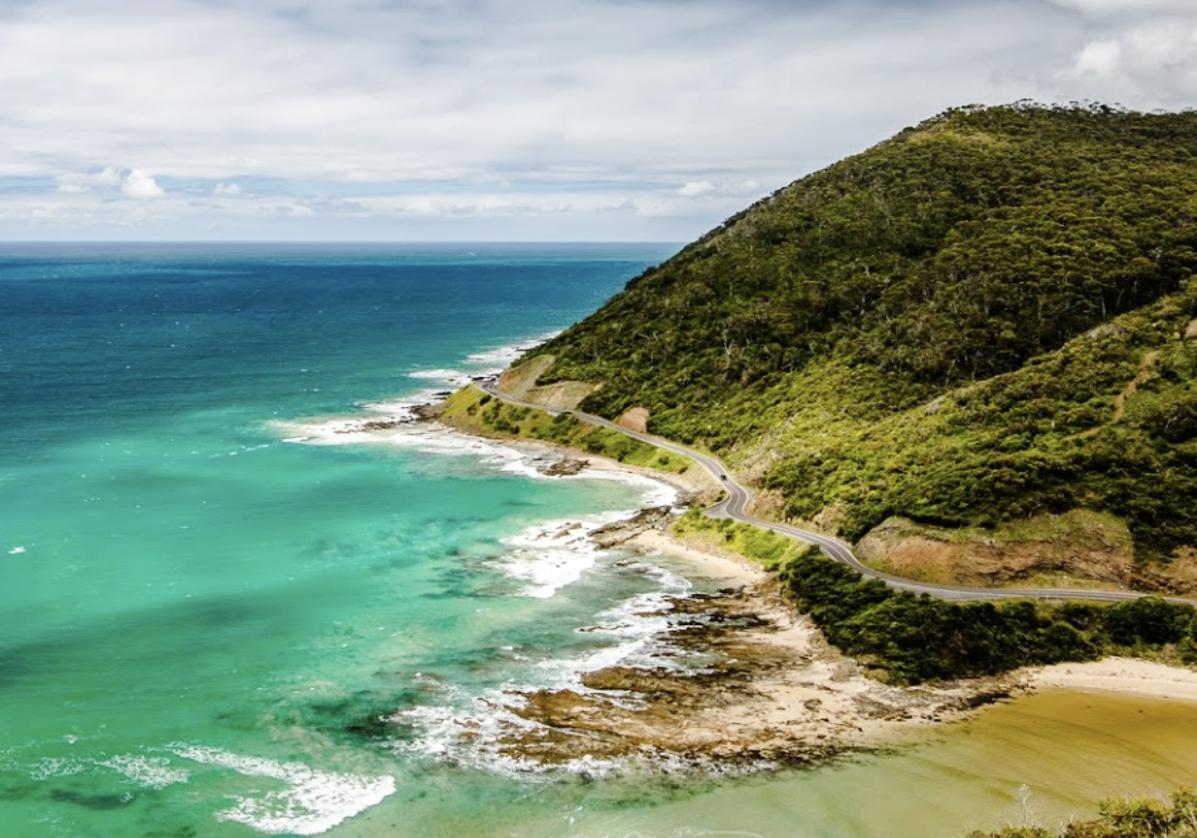 La route côtière Great Ocean Road