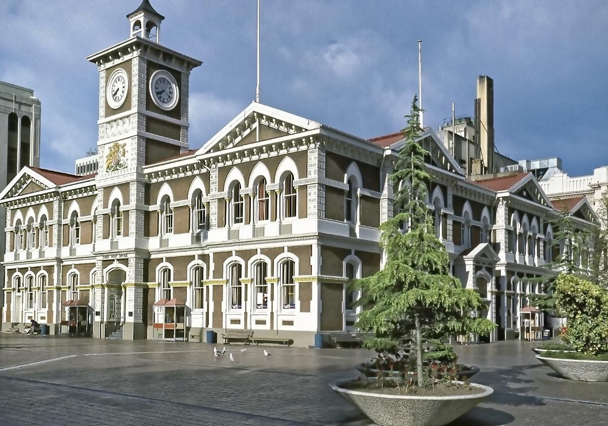 Découverte de Christchurch