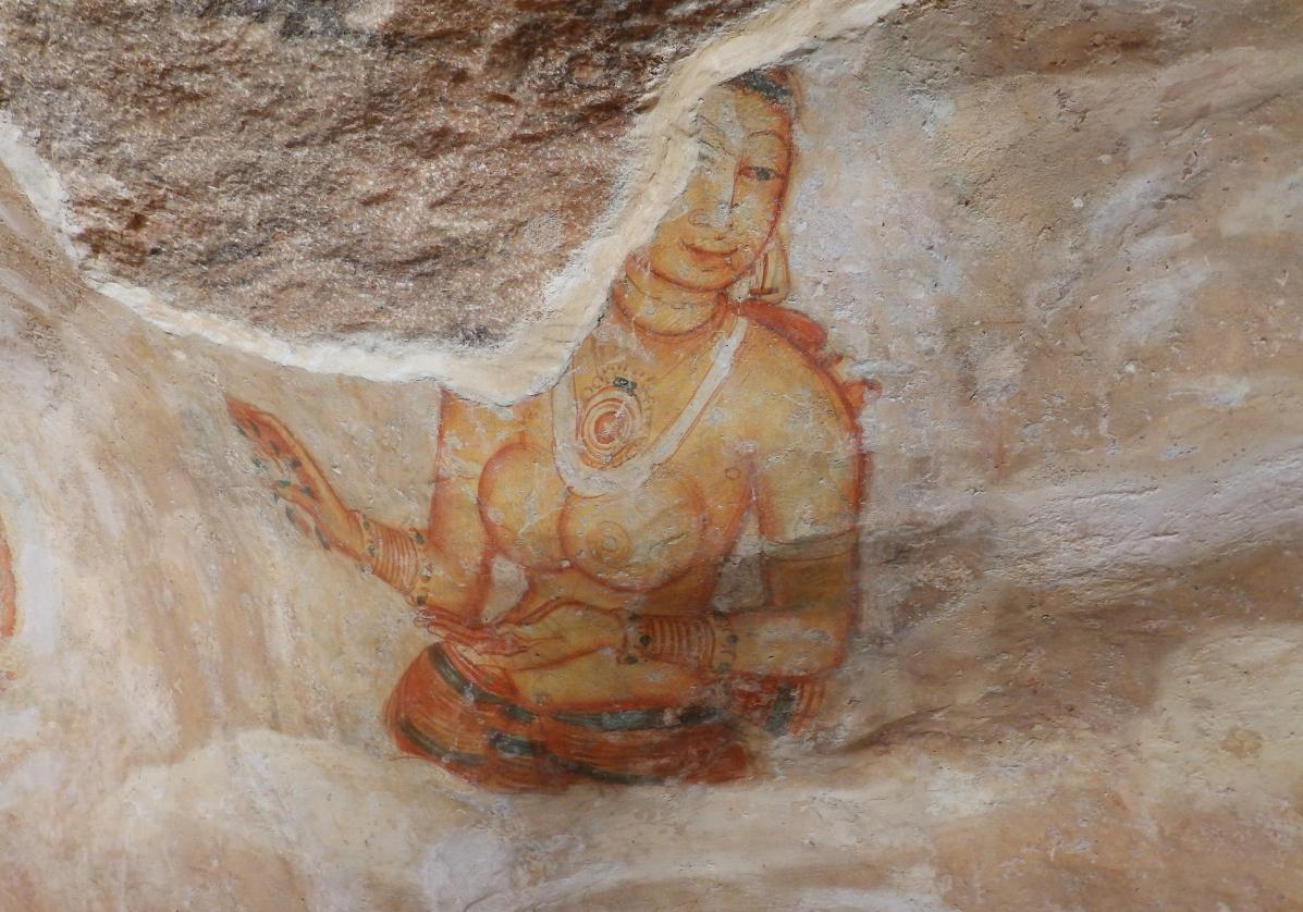 Fresque de Sigiriya