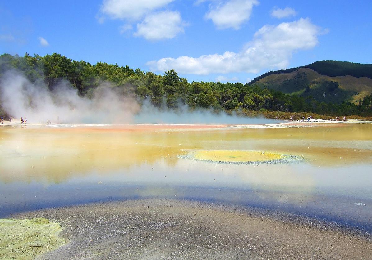 Ville thermale de Rotorua