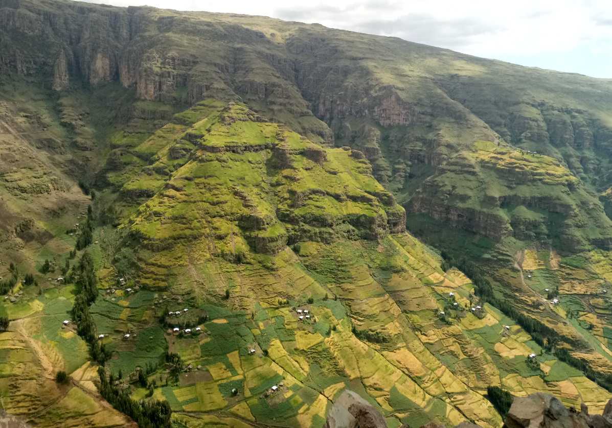 Paysages de la région d'Awramba