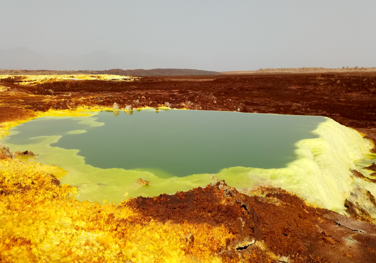 Site géologique de Dallol