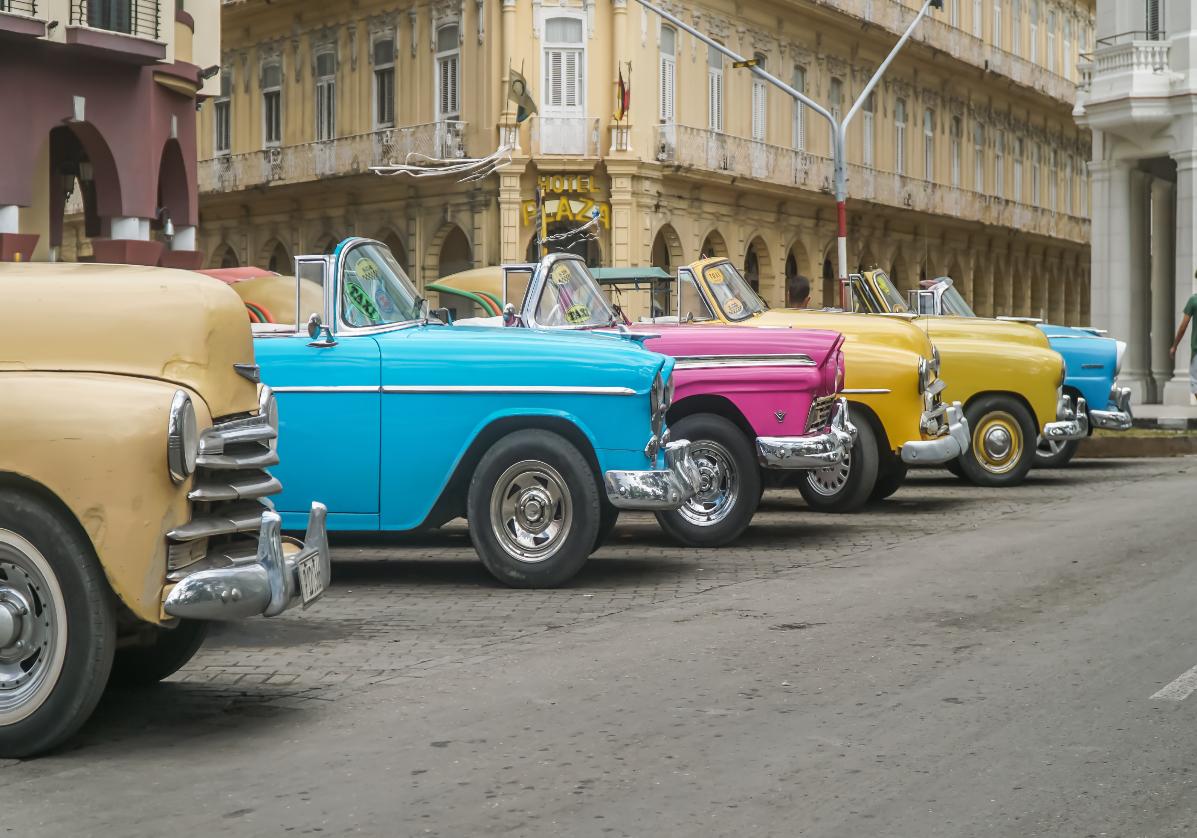 Les voitures américaines de La Havane