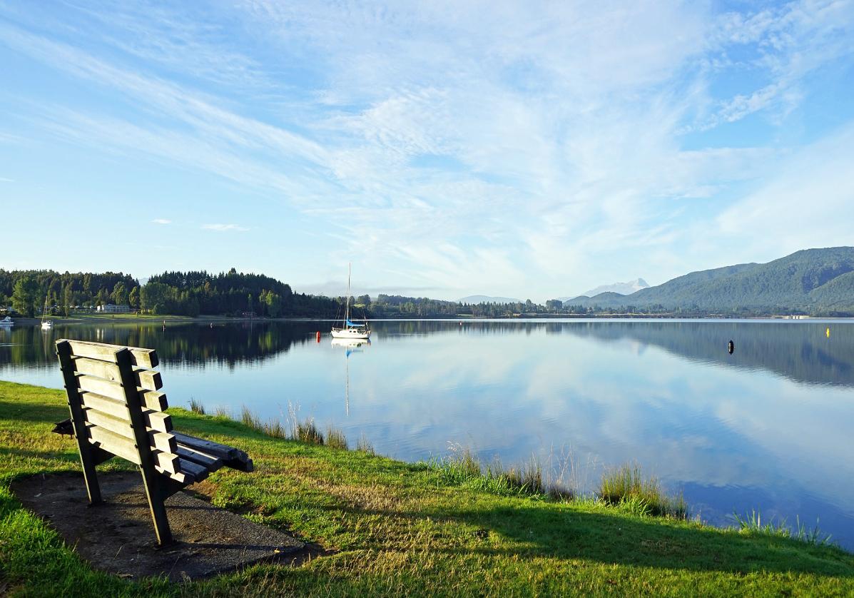 La ville de Te Anau et son lac