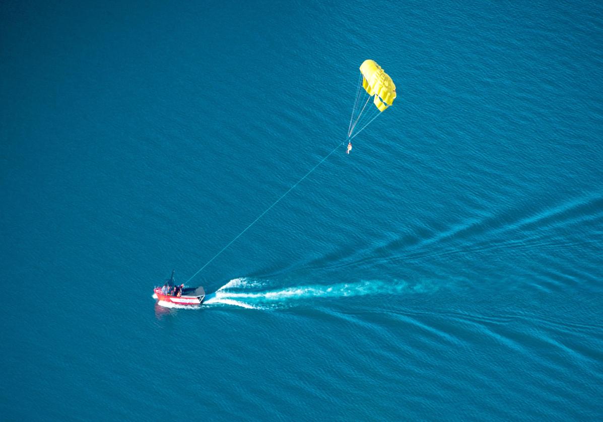 Activités sportives sur le lac Wakatipu