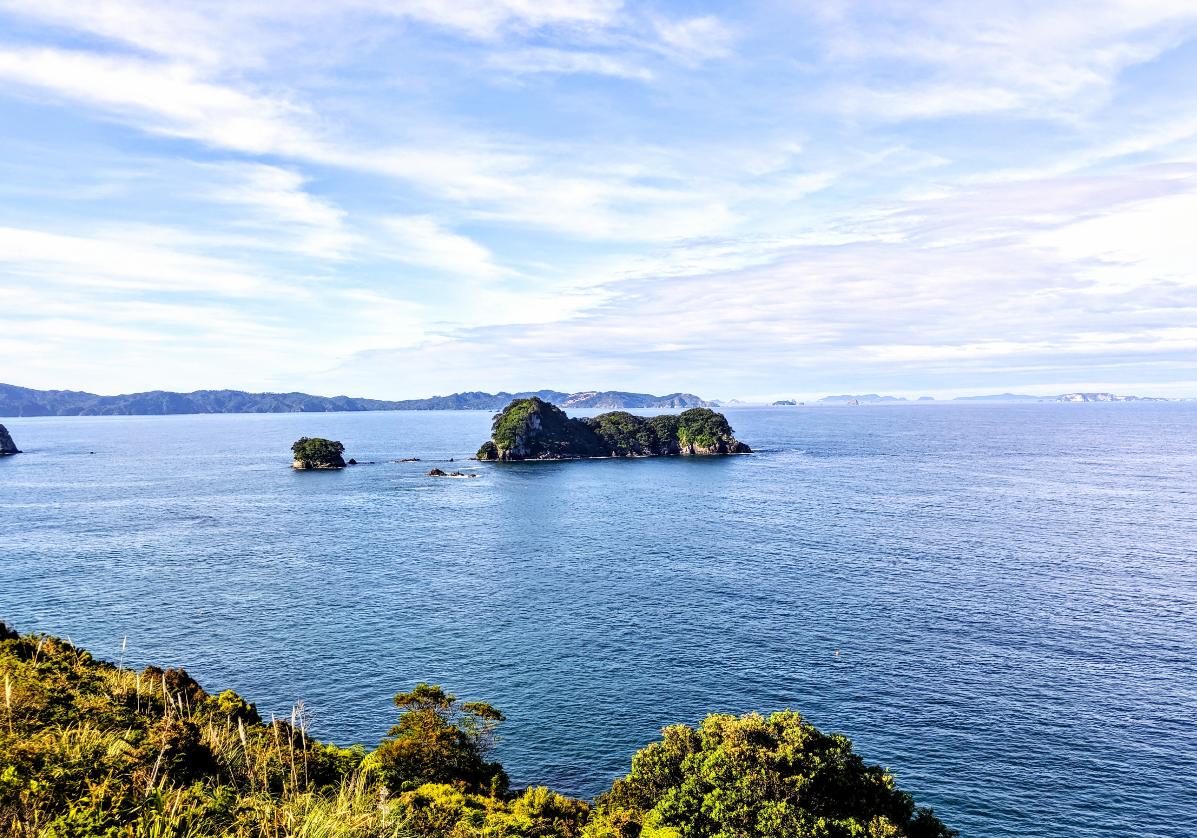 Paysages de la péninsule de Coromandel