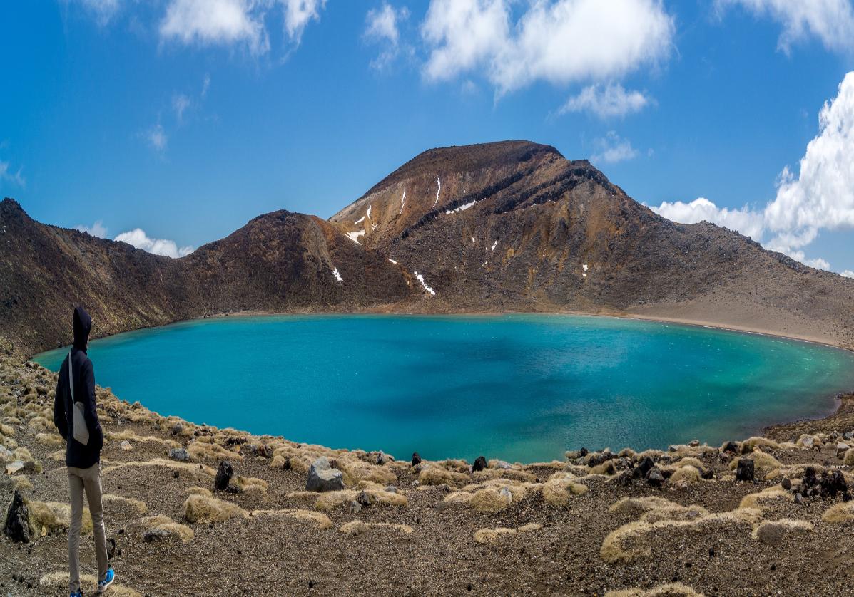 Lacs et volcans du parc national Tongariro