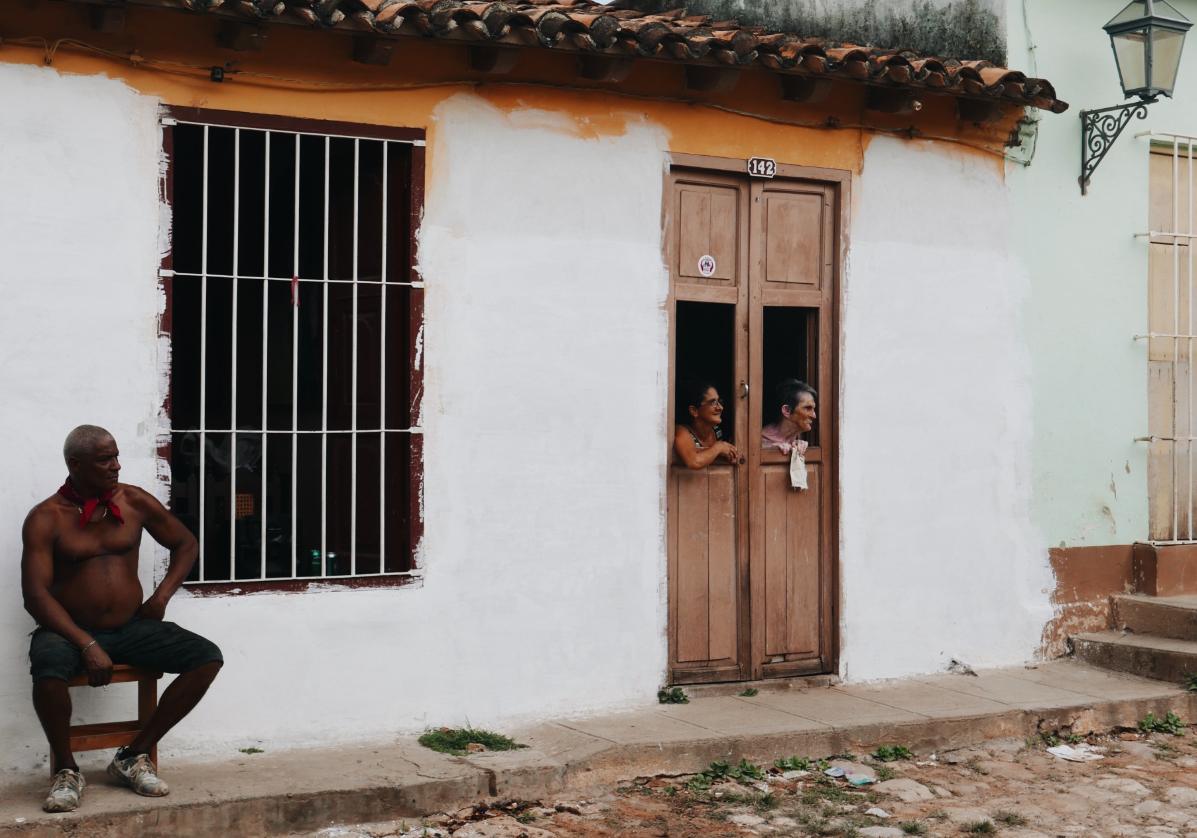 Rencontre avec les cubains de Trinidad