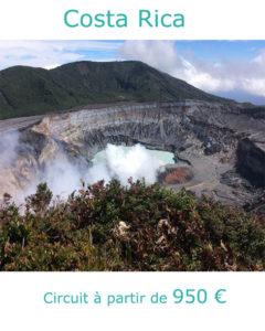 Volcan Poas, partir au Costa Rica en janvier avec Nirvatravel