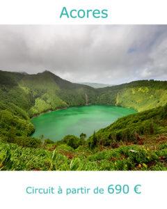 Lagoa Santiago sur l'ile de Sao Miguel, partir aux Acores au mois de juin avec Nirvatravel
