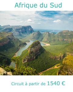 Point de vue sur le Blyde River Canyon, partir en Afrique du Sud en septembre avec Nirvatravel
