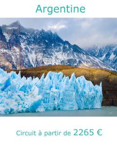 Glacier Perito Moreno, partir en Argentine en février avec Nirvatravel