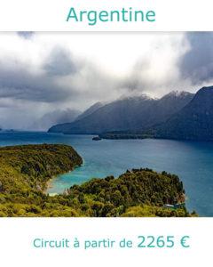 Lacs et montagnes à San Carlos de Bariloche, partir en Argentine en décembre avec Nirvatravel