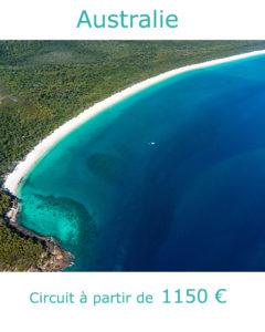 Plages sur une ile des Whitsundays, partir en Australie en janvier avec Nirvatravel