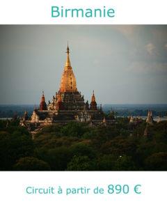 Pagode de Bagan, partir en Birmanie en mars avec Nirvatravel