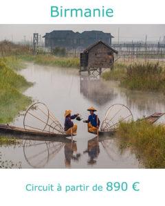 Pêcheurs Intha sur le lac Inle, partir en Birmanie en novembre avec Nirvatravel