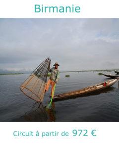 Pêcheur Intha sur le lac Inle, partir en Birmanie en janvier avec Nirvatravel