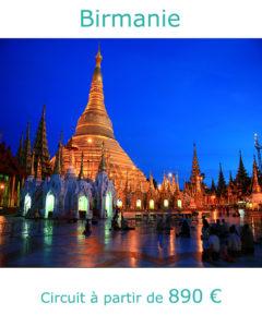 Pagode Shwedagon à Yangon, partir en Birmanie en décembre avec Nirvatravel