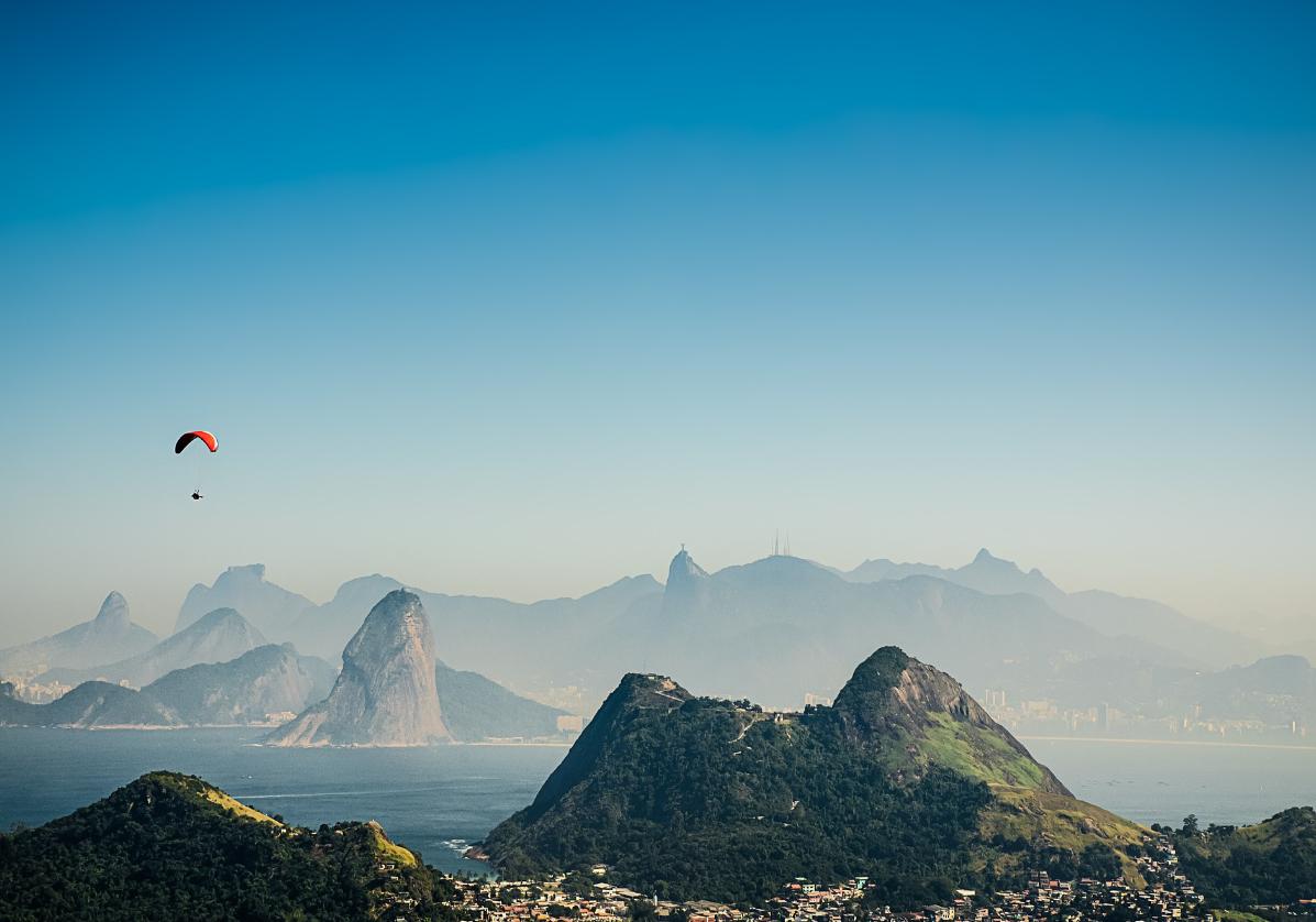 Arrivée à Rio de Janeiro