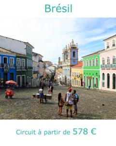 Le Pelourinho dans le centre historique de Salvador de Bahia, partie au Brésil en février avec Nirvatravel