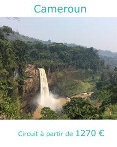 Chutes d'Ekom, partir au Cameroun en décembre avec Nirvatravel